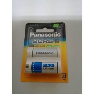 パナソニック(Panasonic)のパナソニック カメラ用リチウム電池 6V 1個入 2CR-5(その他)