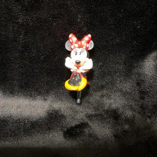 ディズニー(Disney)の新品 イヤフォンジャック イヤホンジャック ディズニー スマホアクセ ミニー(ストラップ/イヤホンジャック)