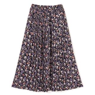 GRL - 花柄プリーツスカート