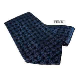 FENDI - FENDI フェンディ ネクタイ ブルー