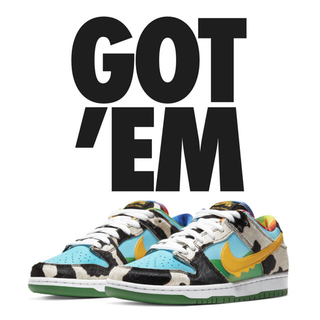 NIKE - NIKE SB DUNK LOW Ben Jerry's 26.5 US8.5