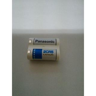 パナソニック(Panasonic)のパナソニック カメラ用リチウム電池 6V 1個入 2CR-5(バルク)(その他)