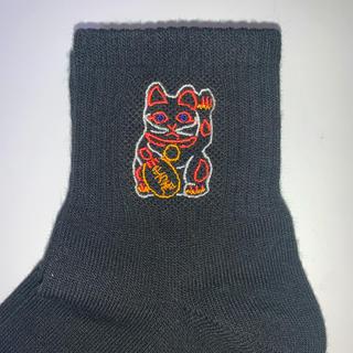 ジーユー(GU)のマネキネコソックス(靴下/タイツ)