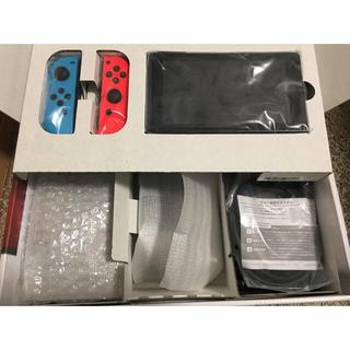 ニンテンドースイッチ(Nintendo Switch)のNintendo Switch (L) ネオンブルー/ (R) ネオンレッド(家庭用ゲーム機本体)