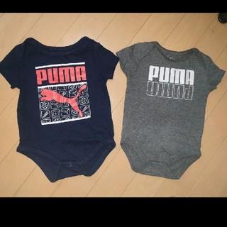 PUMA - アメリカ購入PUMA ベビーロンパース 2点セット