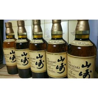 ∞山崎12年5本(ウイスキー)