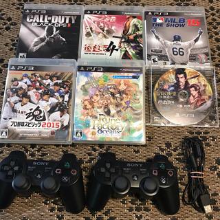 プレイステーション3(PlayStation3)のPlayStation3 コントローラー・ソフトセット PS3(家庭用ゲームソフト)