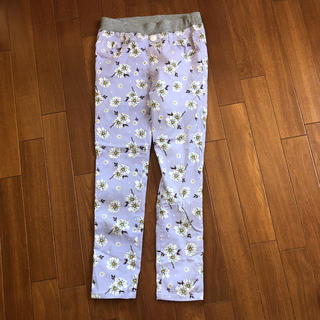 シマムラ(しまむら)のキッズ 花柄パンツ レギンス 160サイズ(パンツ/スパッツ)