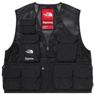 シュプリーム(Supreme)のLsize 黒 Supreme North Face Cargo Vest(ベスト)