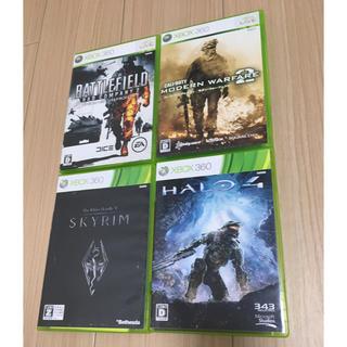 エックスボックス(Xbox)のxbox 360 ゲーム 4本(家庭用ゲームソフト)