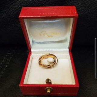 カルティエ(Cartier)のオールドCartier/カルティエ・スリーカラートリニティリング#52(リング(指輪))
