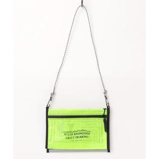 【送料無料】and wander twin pouch set(ボディーバッグ)