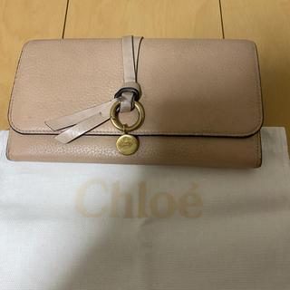 クロエ(Chloe)のChloe クロエ 長財布 ピンク(財布)