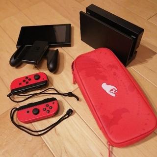 ニンテンドースイッチ(Nintendo Switch)のNintendo Switch(マリオオデッセイセット)※ソフト、箱なし(家庭用ゲーム機本体)