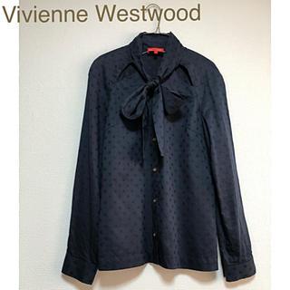Vivienne Westwood - ヴィヴィアンウエストウッド ブラウス リボン襟ブラウス  ヴィヴィアンシャツ