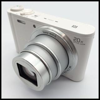 ソニー(SONY)の【Wi-Fi内蔵】 SONY DSC-WX350 ホワイト 【20倍ズーム】(コンパクトデジタルカメラ)