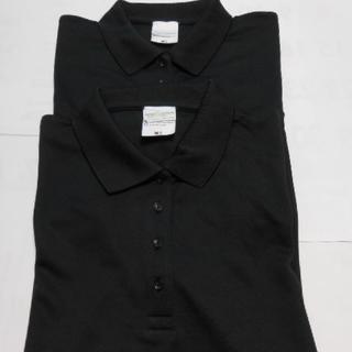 新品ユナイテッドアスレ(アルカイアンティーク)半袖ポロ・M・ブラック2枚セット(ポロシャツ)
