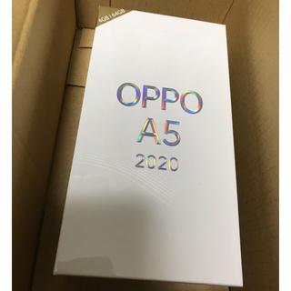 OPPO A5 2020 ブルー 【新品未開封】(スマートフォン本体)