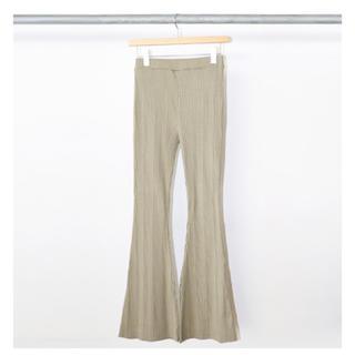 PHEENY - PHEENY / フィーニー   Random rib flared pants