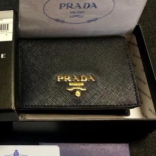 PRADA - 【美品】PRADA 二つ折り財布 小銭入れ付