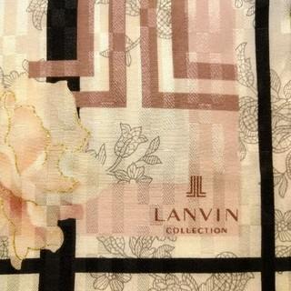 ランバンコレクション(LANVIN COLLECTION)のLANVIN COLLECTION 花柄スカーフ(大判ハンカチ)(バンダナ/スカーフ)