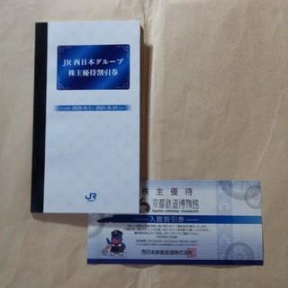 ジェイアール(JR)のJR西日本グループ株主優待割引券、京都鉄道博物館入館割引券(ショッピング)