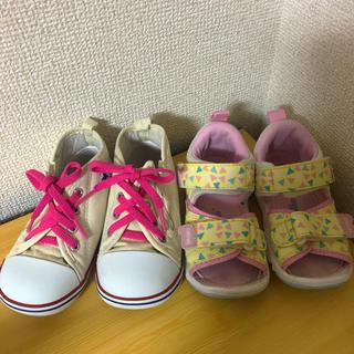 コンバース(CONVERSE)の二足セット☆コンバース&ムーンスター(スニーカー)