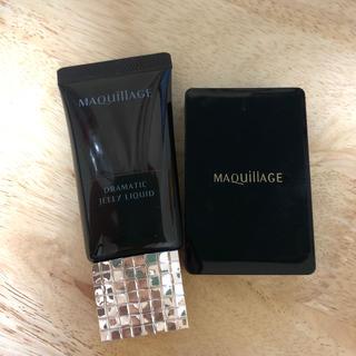 MAQuillAGE - マキアージュ ドラマティックジェリーリキッド ファンデーション オークル10