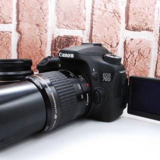 キヤノン(Canon)の★超人気★Canon 70D ダブルレンズセット(デジタル一眼)
