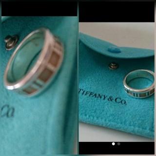 ティファニー(Tiffany & Co.)の【正規】TIFFANYアトラス指輪11号伊勢丹購入(リング(指輪))