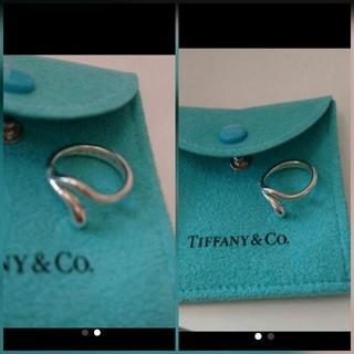 ティファニー(Tiffany & Co.)の【正規】TIFFANYティアドロップ7号伊勢丹購入(リング(指輪))