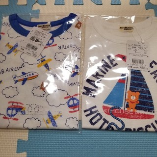 HOT BISCUITS - ミキハウス ホットビスケッツ 半袖Tシャツ 110センチ 新品