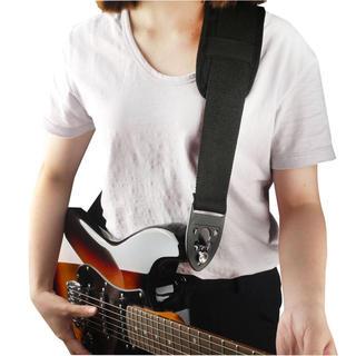 ★ギター ストラップ エンドピン固定 三角ピック 新品 送料込み★(ストラップ)