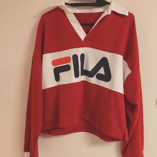 フィラ(FILA)のWEGO×FILA トレーナー(トレーナー/スウェット)