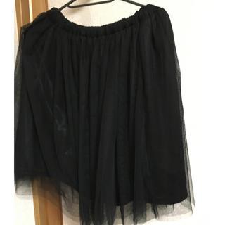 新品クリアー スカート(ひざ丈スカート)