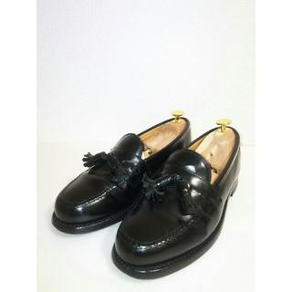 リーガル(REGAL)のサイズ25.5cm リーガル タッセルローファー 黒 REGAL 日本製(ドレス/ビジネス)