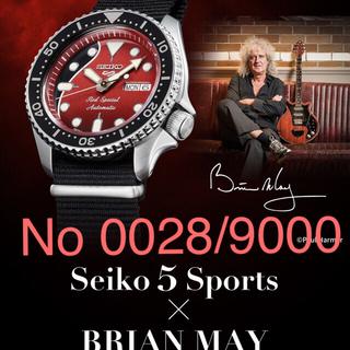SEIKO - セイコー5 スポーツ ブライアン・メイ SBSA073