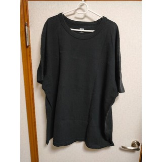 ユニクロ(UNIQLO)のUNIQLO U クルーネックT 黒(Tシャツ/カットソー(半袖/袖なし))