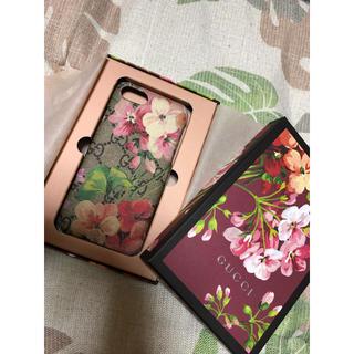 グッチ(Gucci)のGUCCI/グッチ GGリゾートフラワーiPhoneケース8対応(iPhoneケース)