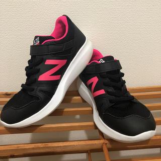 ニューバランス(New Balance)のNew Balance(NB)YT570 ブラック/ピンク 24cm(スニーカー)