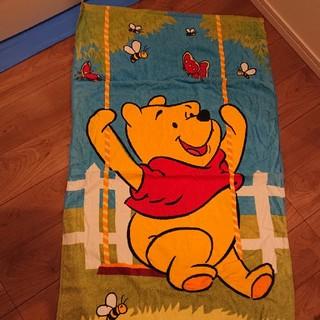 ディズニー(Disney)の大判バスタオル タオルケット 保育園 お昼寝(タオルケット)