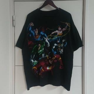 アメコミ キャラクターTシャツ 古着 DC COMICS ビッグプリント(Tシャツ/カットソー(半袖/袖なし))
