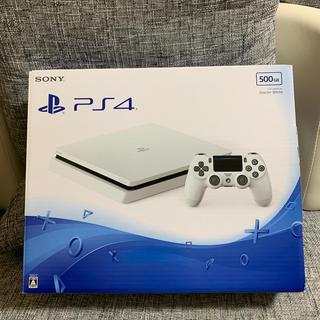 プレイステーション4(PlayStation4)のPlayStation4 プレイステーション4 本体 ホワイト 500GB(家庭用ゲーム機本体)