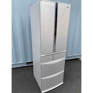 パナソニック(Panasonic)のたけし様専用 Panasonic 冷凍冷蔵庫 エコナビ搭載 426L(冷蔵庫)