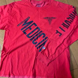 ステューシー(STUSSY)のOLD CHAMPION ロンT 非売品(Tシャツ/カットソー(七分/長袖))