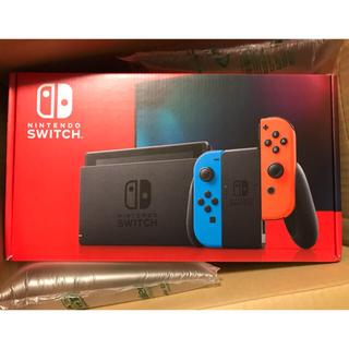 ニンテンドースイッチ(Nintendo Switch)の【新品未開封】Nintendo switch ニンテンドースイッチ 新型(家庭用ゲーム機本体)