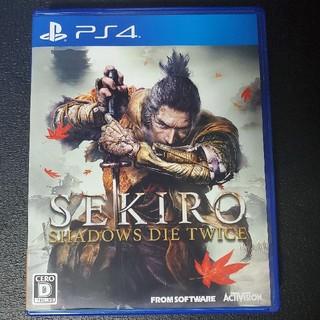 プレイステーション4(PlayStation4)のSEKIRO: SHADOWS DIE TWICE PS4(家庭用ゲームソフト)