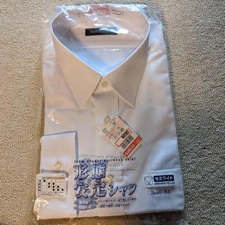 シマムラ(しまむら)のしまむら ワイシャツ 白 セミワイド 形態安定加工(シャツ)