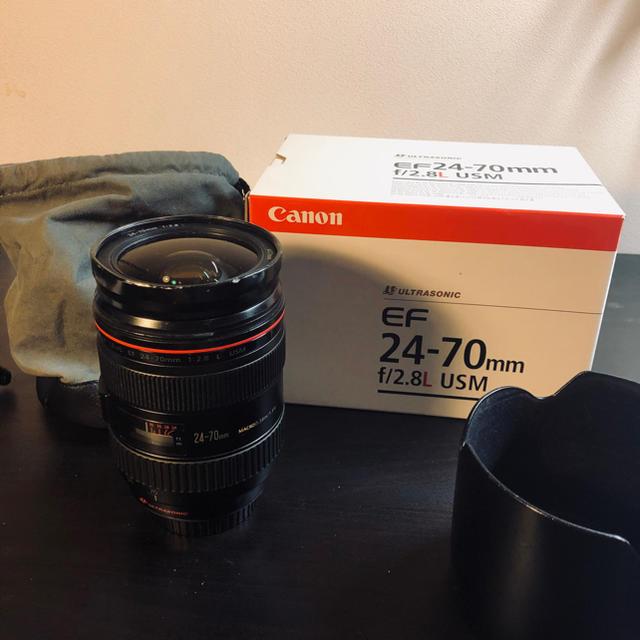 Canon(キヤノン)のCanon EF 24-70mm f2.8L USM スマホ/家電/カメラのカメラ(レンズ(ズーム))の商品写真