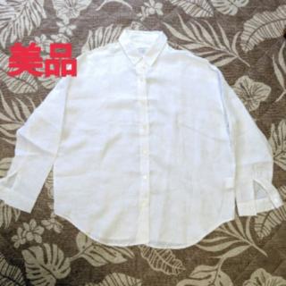 ドゥーズィエムクラス(DEUXIEME CLASSE)のリネンシャツ(シャツ/ブラウス(長袖/七分))